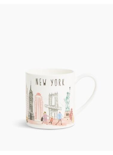 Marks & Spencer New York Baskılı Kupa Renkli